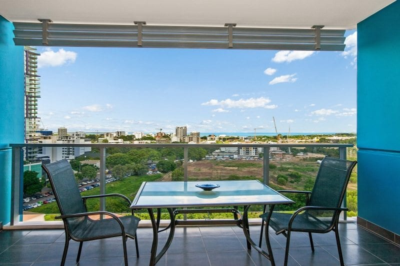 Executive City Mindil Beach View Darwin accommodation with Balcony